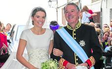 La hija de Michavila se casa con el traje de su madre