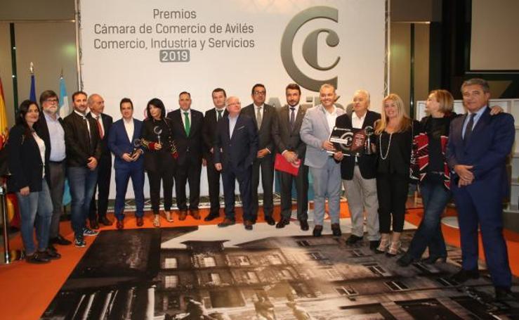 Premios de la Cámara de Comercio de Avilés