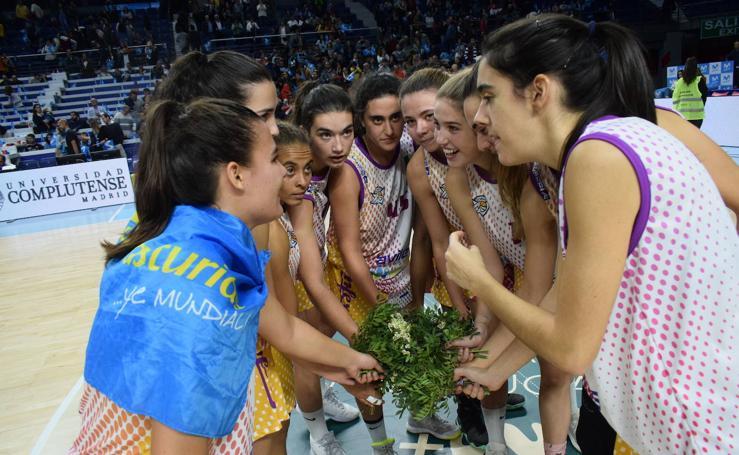 El ADBA avilesino, protagonista en la fiesta del deporte femenino en Madrid