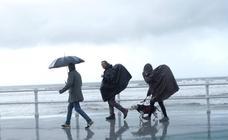 Fin de semana de paraguas
