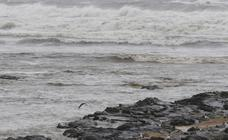 Aguas turbias por el temporal en San Lorenzo
