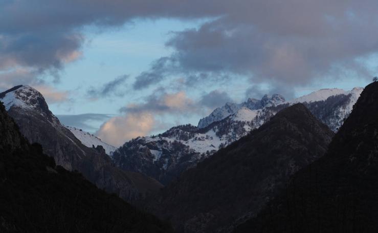 Los Picos de Europa, de blanco