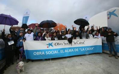 Récord de participación en la Marcha Solidaria de LA VOZ con más de quinientas personas