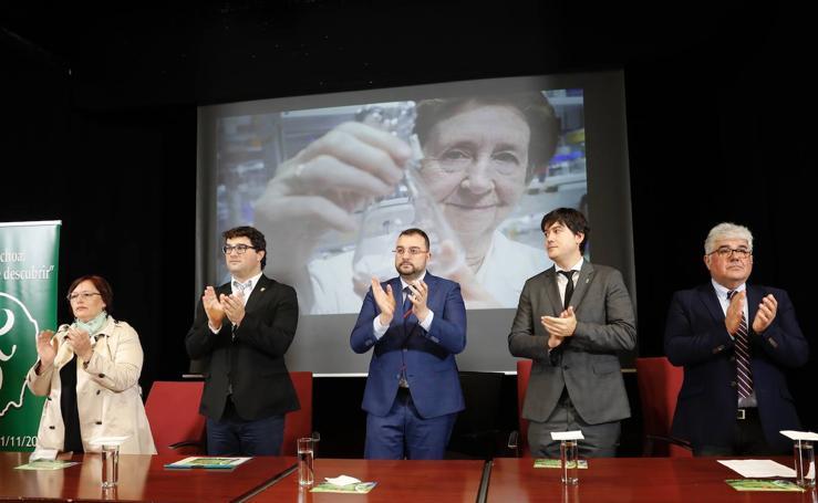 Margarita Salas dará nombre al programa asturiano para retener científicos