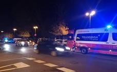 Herido un motorista al ser arrollado por un turismo en Gijón