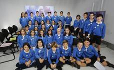 Los alumnos del Colegio Inmaculada debaten en Canal 10