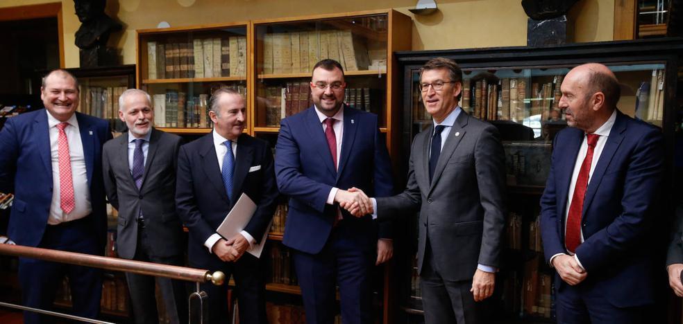 Asturias y Galicia acuerdan ir de la mano para exigir la supresión de sus peajes