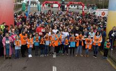 Así fue la marcha solidaria en favor a los niños con cáncer
