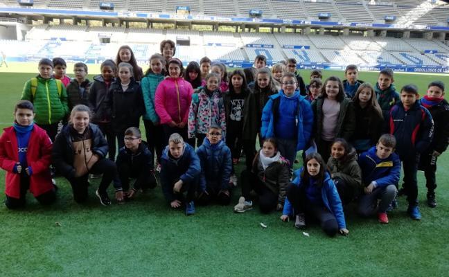 Visita en inglés de los alumnos del Colegio Público Obanca