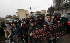 Primera huelga en Asturias por la supresión de la EBAU