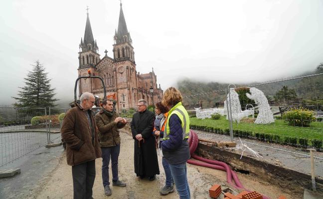 Las obras de Covadonga obligarán a aplicar nuevos cortes de tráfico
