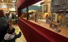 Inauguración de la exposición de belenes de Oviedo