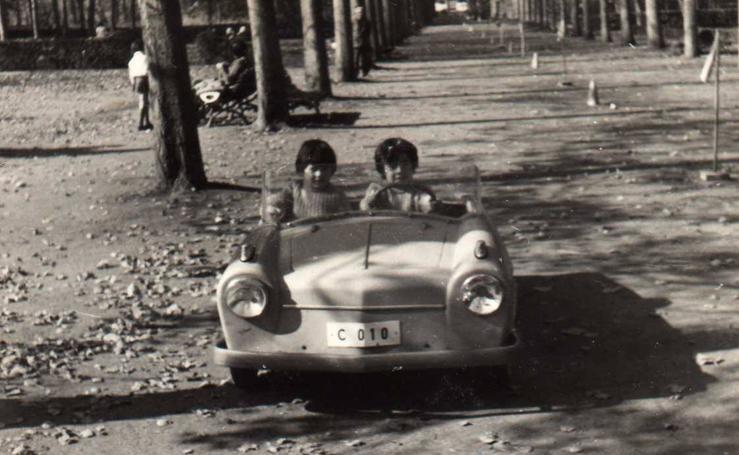 Imágenes históricas del parque Isabel la Católica de Gijón