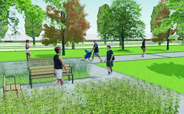 «Es saludable que haya mucho más verde en la ciudad»