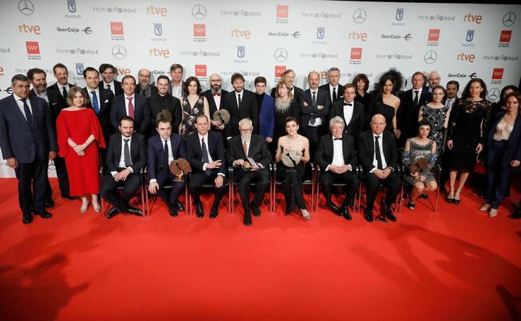 Los Forqué abren la temporada de premios del cine español