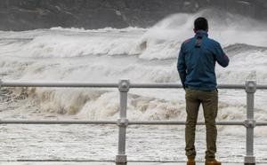 Asturias vivirá este martes una jornada de fuertes vientos y fenómenos costeros