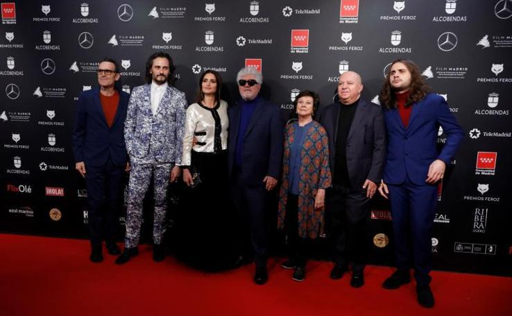 La alfombra roja de los Premios Feroz