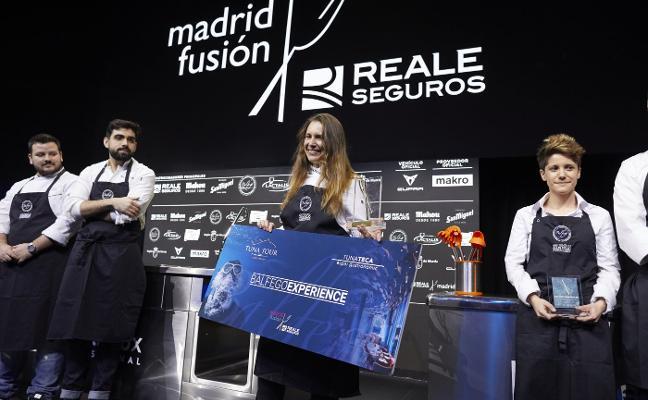 Reale Seguros Madrid Fusión | Xune Andrade: «Esto es bueno para mí y para todos mis compañeros»