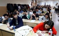 Ensayo del examen MIR en Oviedo