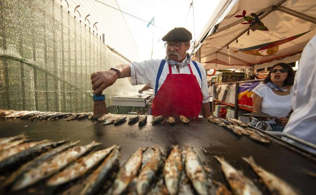 El festival de la sardina de Candás quiere ser de interés turístico nacional