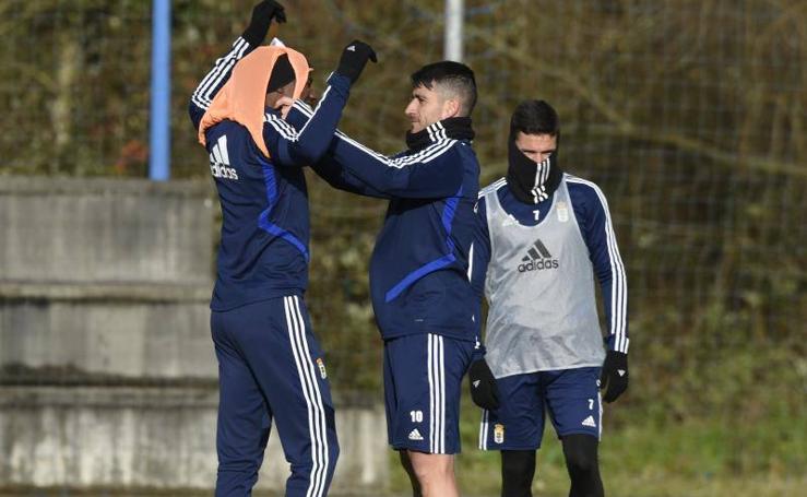 Entrenamiento del Real Oviedo (20/01/2020)