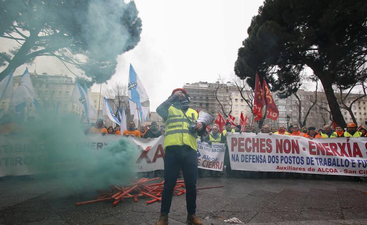 Manifestación en Madrid por un estatuto electrointensivo