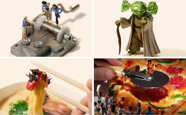 Un mundo real en miniatura
