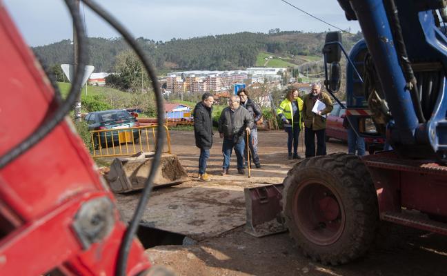 150 viviendas del norte de Cancienes tendrán saneamiento en un año