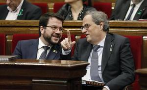 JxCat y ERC se enfrentan por la fecha de las elecciones catalanas