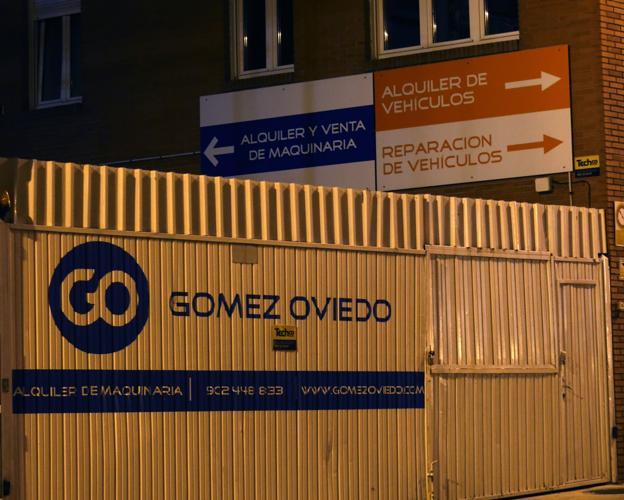 Instalaciones de Gómez Oviedo donde ocurrió el accidente. / LORENZANA