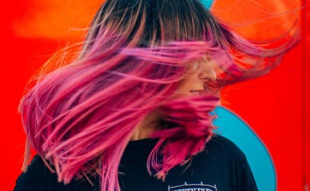 Color de pelo con mi foto