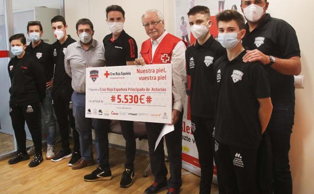 La MMR Academy recauda más de 5.500 euros para la Cruz Roja