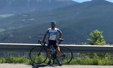 Burgos, punto de partida de Dani Navarro en su camino al Tour