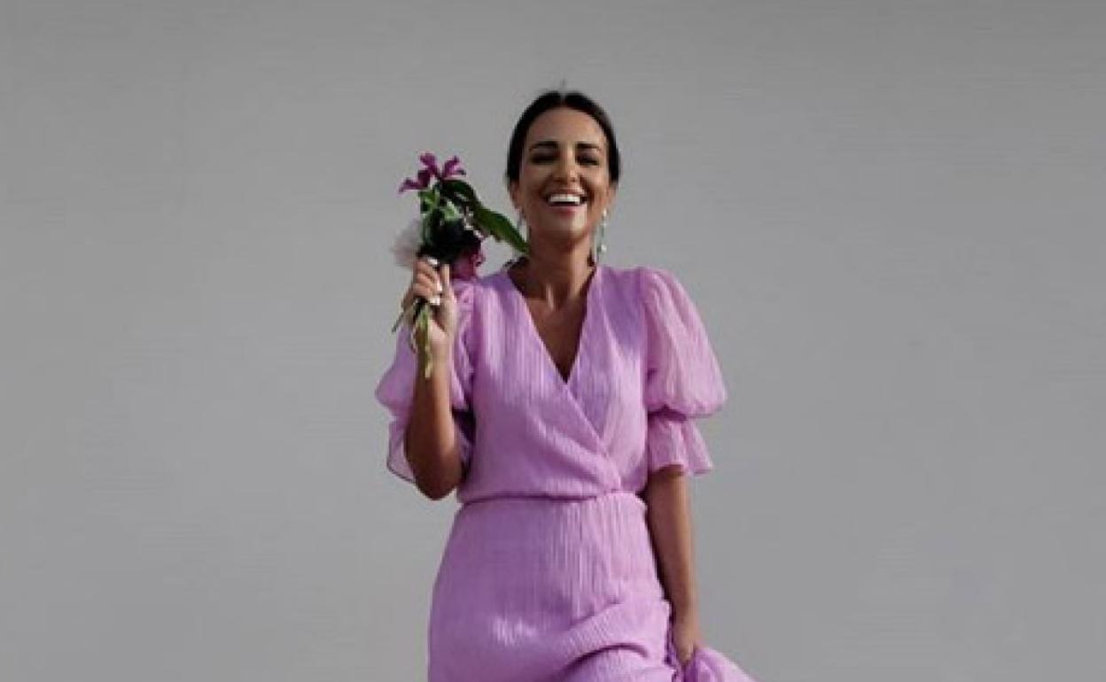 Paula Echevarria Convierte En Viral Un Vestido De H M Perfecto Para Tallas Grandes Y Pequenas El Comercio
