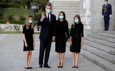 Los Reyes presiden el funeral por las víctimas del coronavirus