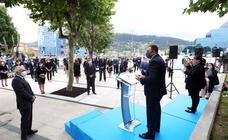 Asturias rinde homenaje a las víctimas de la COVID-19