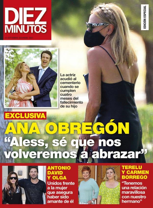 La terapia que esta haciendo Ana Obregón para superar la ausencia de Álex Lequio 6