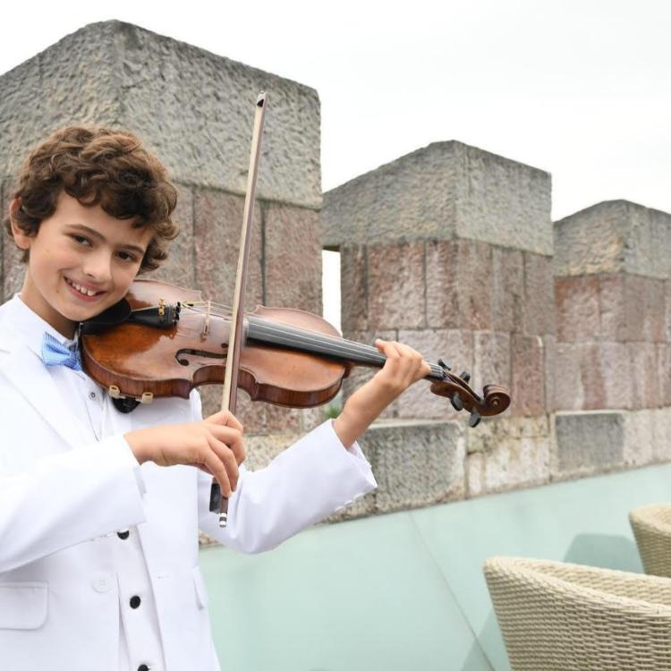 El pequeño prodigio asturiano del violín