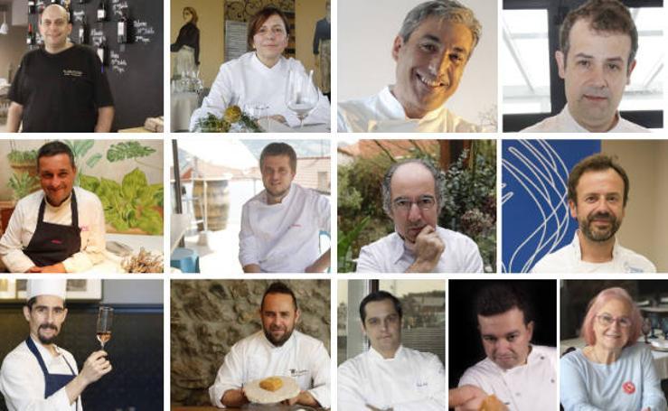 Los asturianos de la Guía Michelin