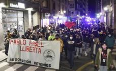 «Pablo Hasel, libertad»: protestas en apoyo al rapero en Asturias