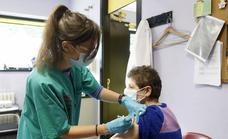 Los primeros en ponerse la vacuna de Janssen en Asturias