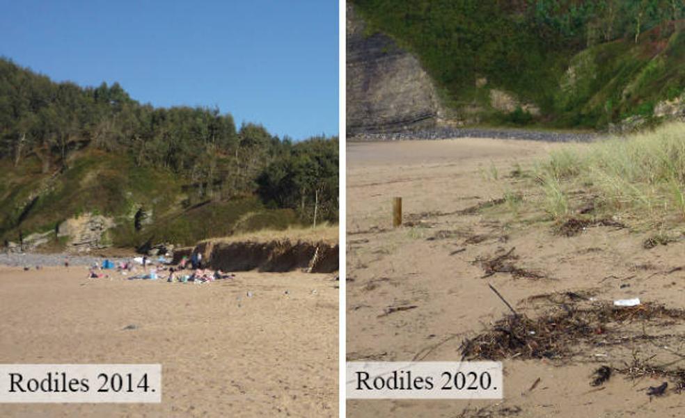 Incrementan los fuertes temporales de olas en Asturias por el efecto del cambio climático