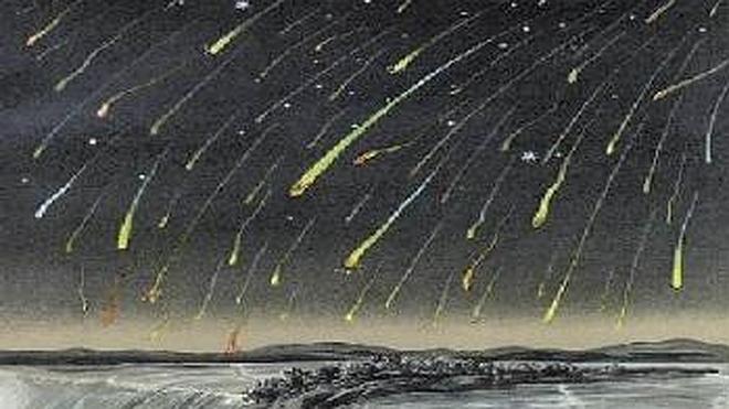 El año en que nevaron estrellas fugaces