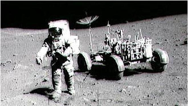 Una palanca del Apolo 15, subastada por 600.000 dólares