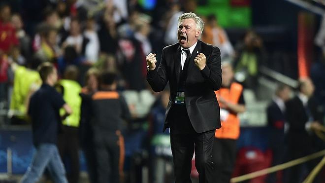 Ancelotti, un entrenador de récord en la Champions