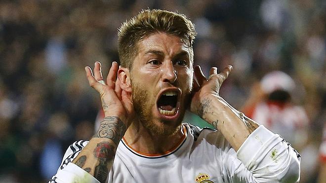 El goleador blanco es Sergio Ramos