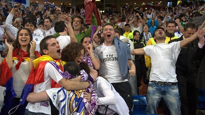 Madrid, un festival de sentimiento futbolístico