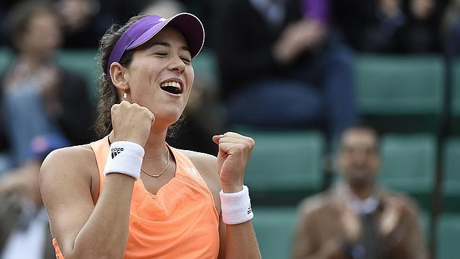 Garbiñe Muguruza elimina a Serena Williams en Roland Garros