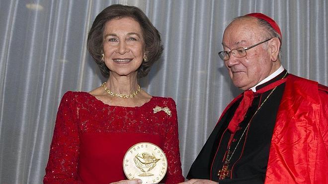 La Reina dice que el premio 'Path to Peace' es también para España