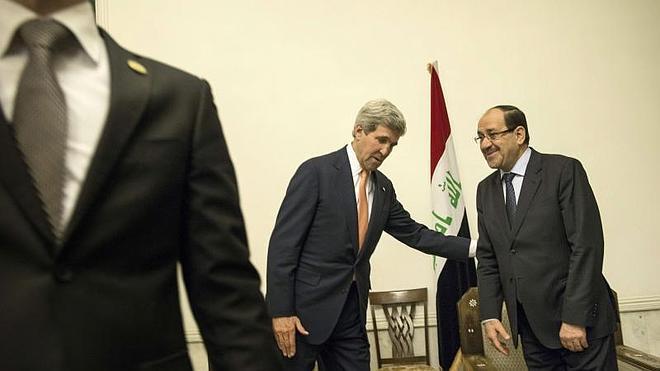 Kerry pide a los dirigentes kurdos integrarse en un nuevo Gobierno de unidad